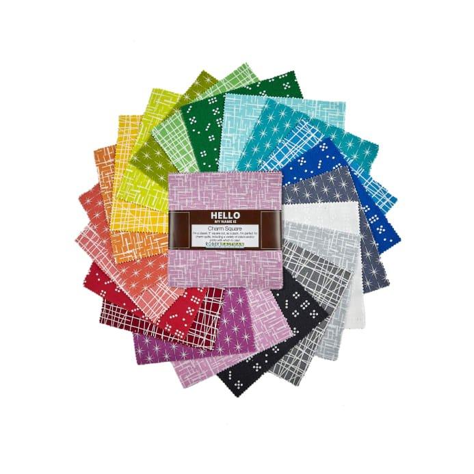 Violet Craft Modern Classics Charm Square