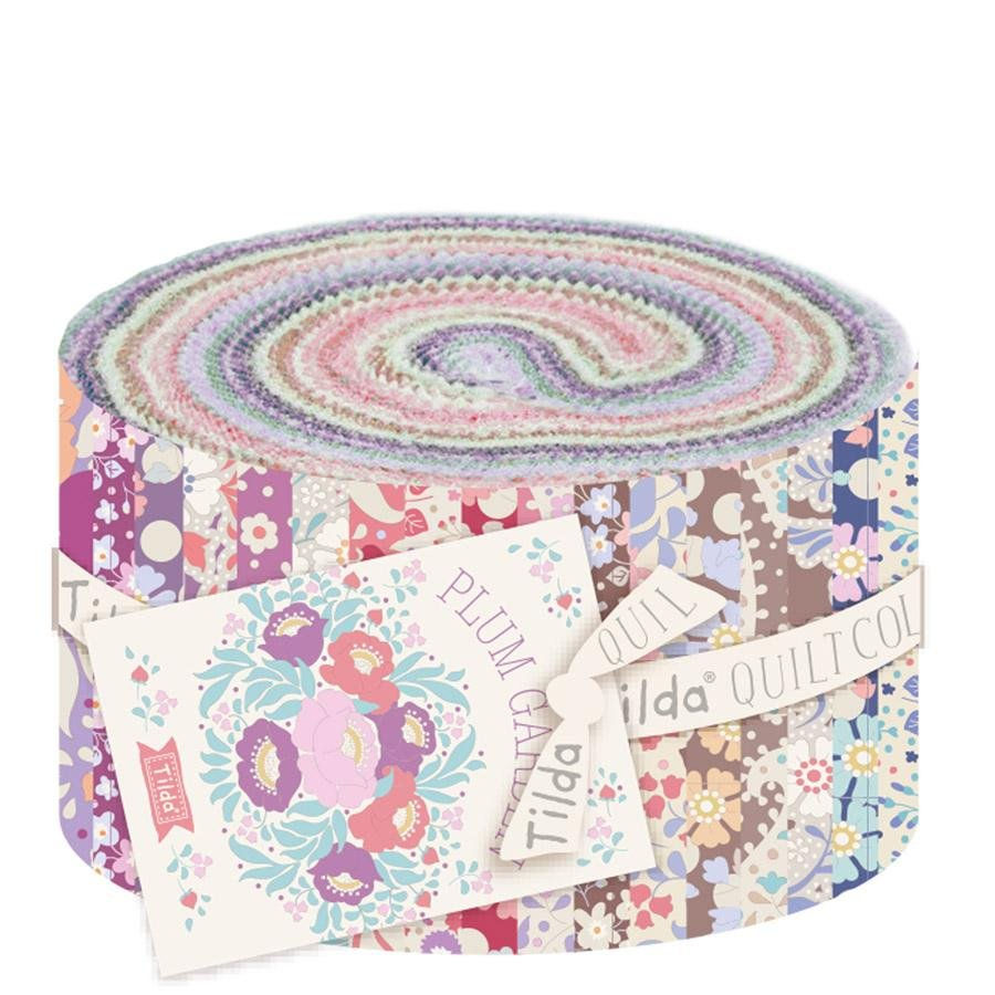 Plum Garden Fabric Roll