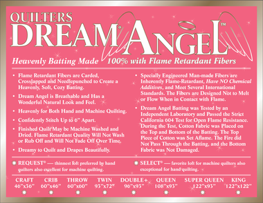 Dream Angel throw