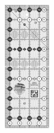 Creative Grids Quilt Ruler 4-1/2in x 12-1/2in