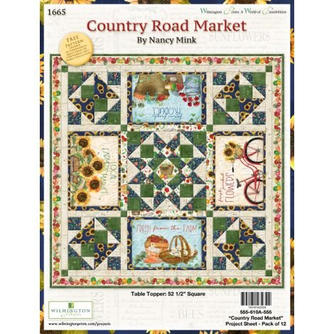 Country Road Market quilt kit (binding included)