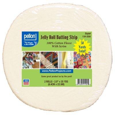 Pellon Jelly Roll Batting Strip  987F Fusible Fleece (50 yards)