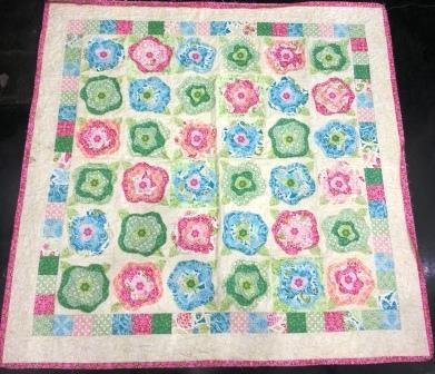 French Roses quilt kit