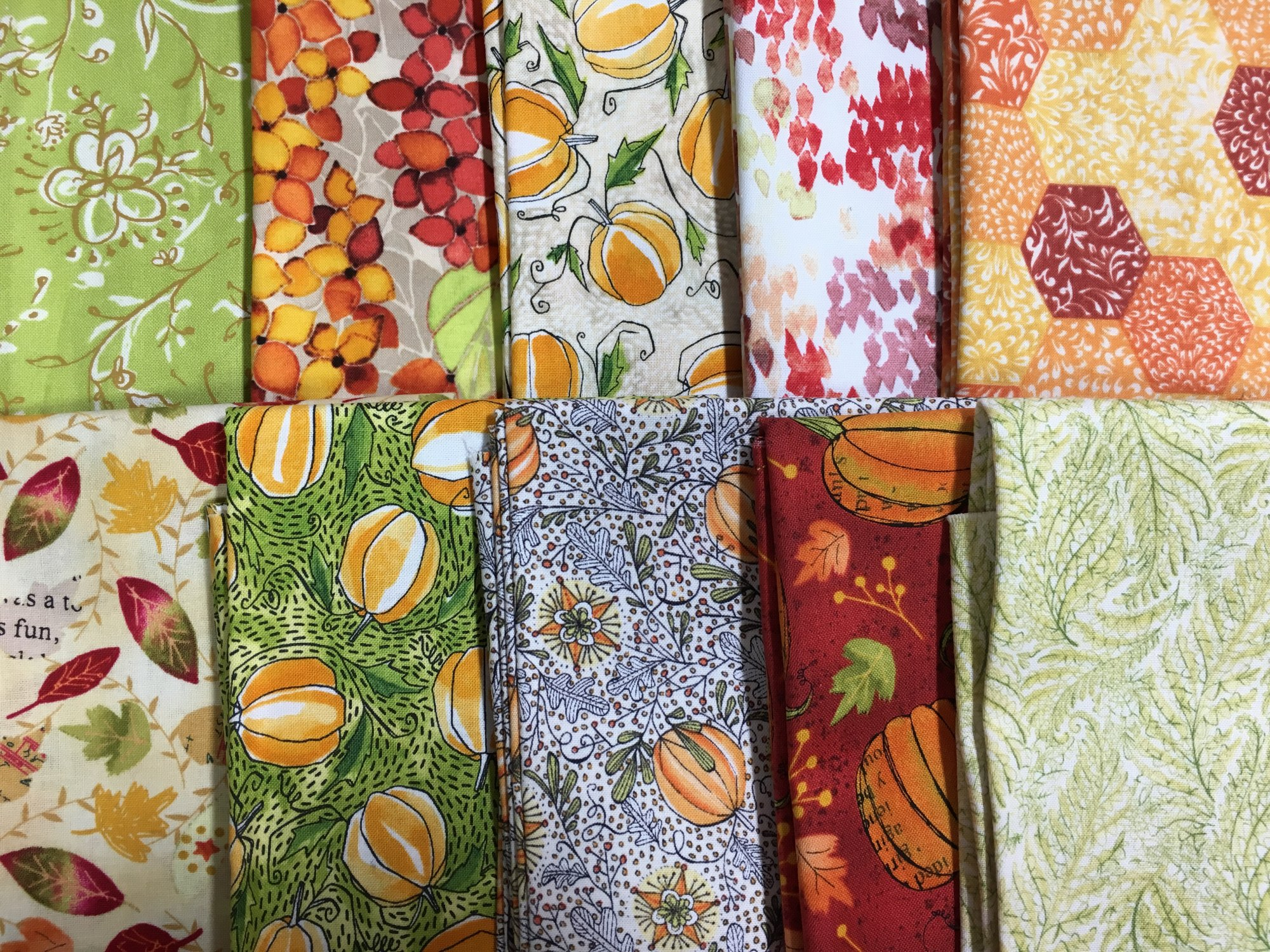 Fall Fabrics Bundle