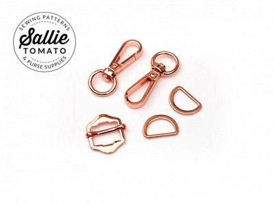 Copper Zippy Crossbody Hardware
