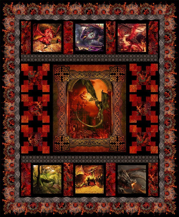 Dragon Quilt Kit