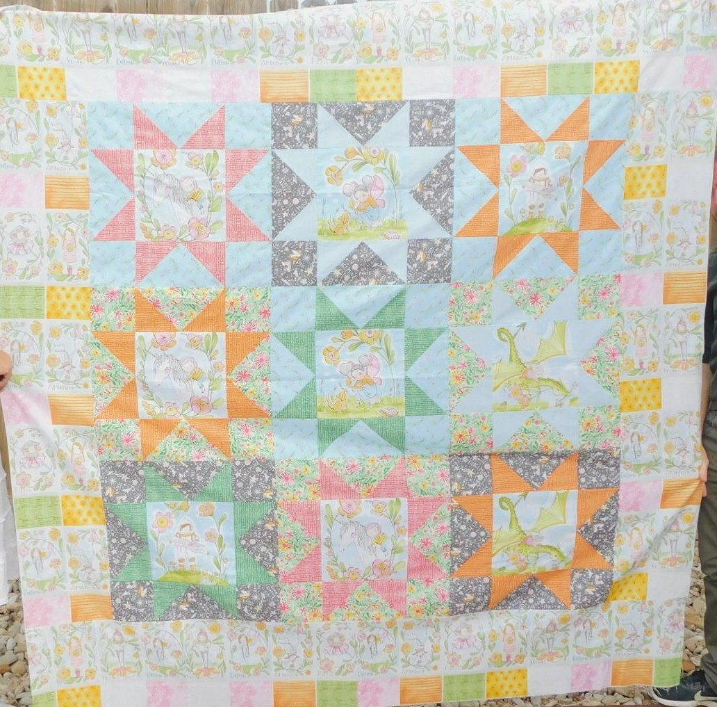 Sugar and Spice quilt kit (binding not included)