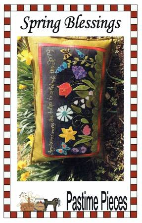 Spring Blessing Pillow Pattern