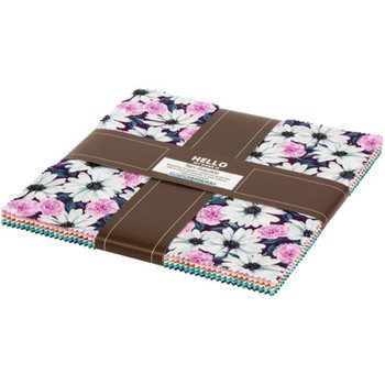 DAISY MADE - 42 Piece Ten Square Charm Pack
