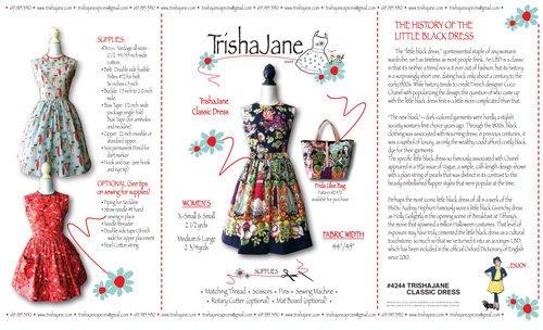 Trisha Jane Classic Dress Pattern by Trisha Jane Aprons