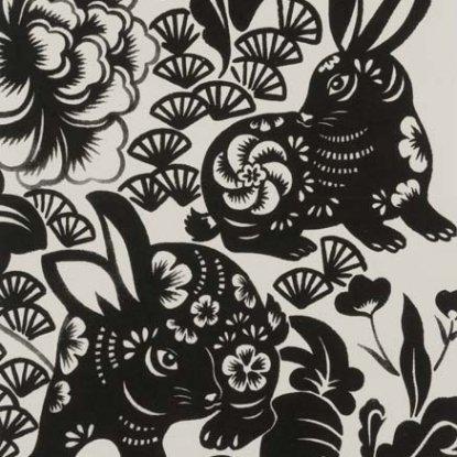 Usagi Rabbit Black