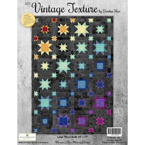 Vintage Texture quilt Kit (binding included)