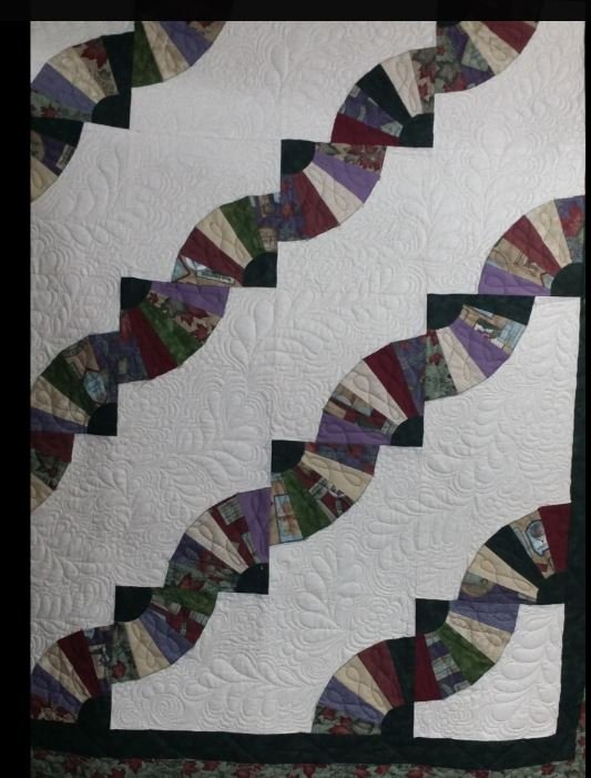 Grandmothers fan Quilt Kit