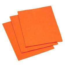 Felt 9  x 12  in orange