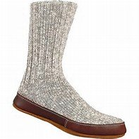 SALE - Acorn Slipper Sock