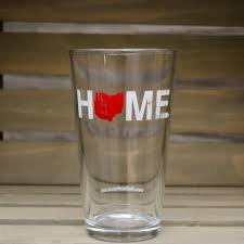 Be Ohio Proud HOME Pint Glass