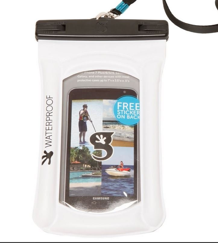 Gecko Waterproof Float Phone Dry Bag