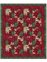 Simply Blocks 3 yard Batik Quilt Kit