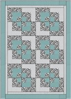 Corner Play 3 Yard Quilt Kit
