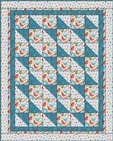 Boxes & Bows 3 Yard Batik Quilt Kit