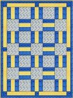 Porch Rails 3 Yard Batik Quilt Kit