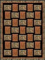 Sew Fast 3 Yard Batik Quilt Kit