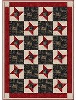 Friendship Star 3 Yard Batik Quilt