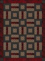 Puzzle Me This 3 Yard Batik Quilt Kit