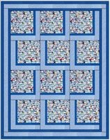 Bold Blocks 3 Yard Batik Quilt Kit