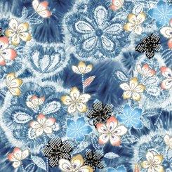 Akemi-Tye Dye Floral Demin