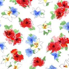 Ashlee 1649 27893 Floral White