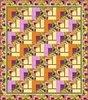 Floral Fantasy Quilt Kit