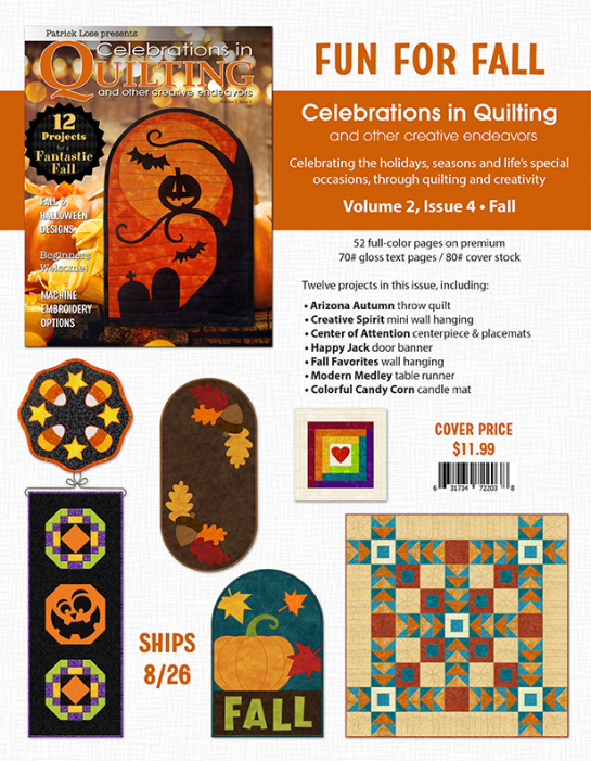 Celebration in Quilting and other Creative Endeavors