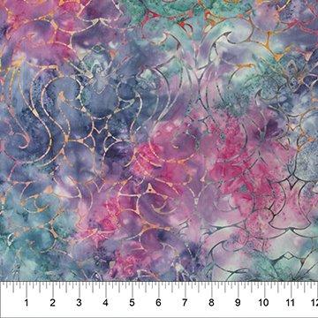 Batik Victorian Contemporary Denim Multi 80542-45