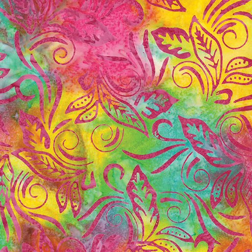 Batik Banana Leaf Rainbow