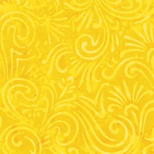 Batik Wave Floral Sunshine