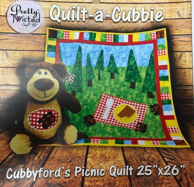 Cubbyford's Picnic Quilt Kit 25 x 26