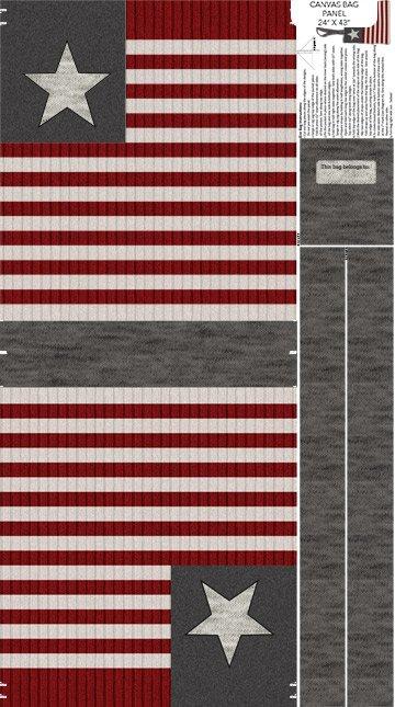 Panel My American Purse C24007-92