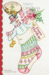 Embroidery Merry Christmas Stocking