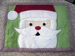 Christmas Santa Mug Rug Kit