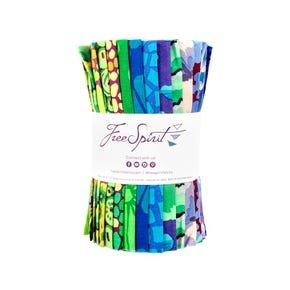 Precuts Kaffe Fassett 6 Designer Roll Cool FB4DSGP Cool