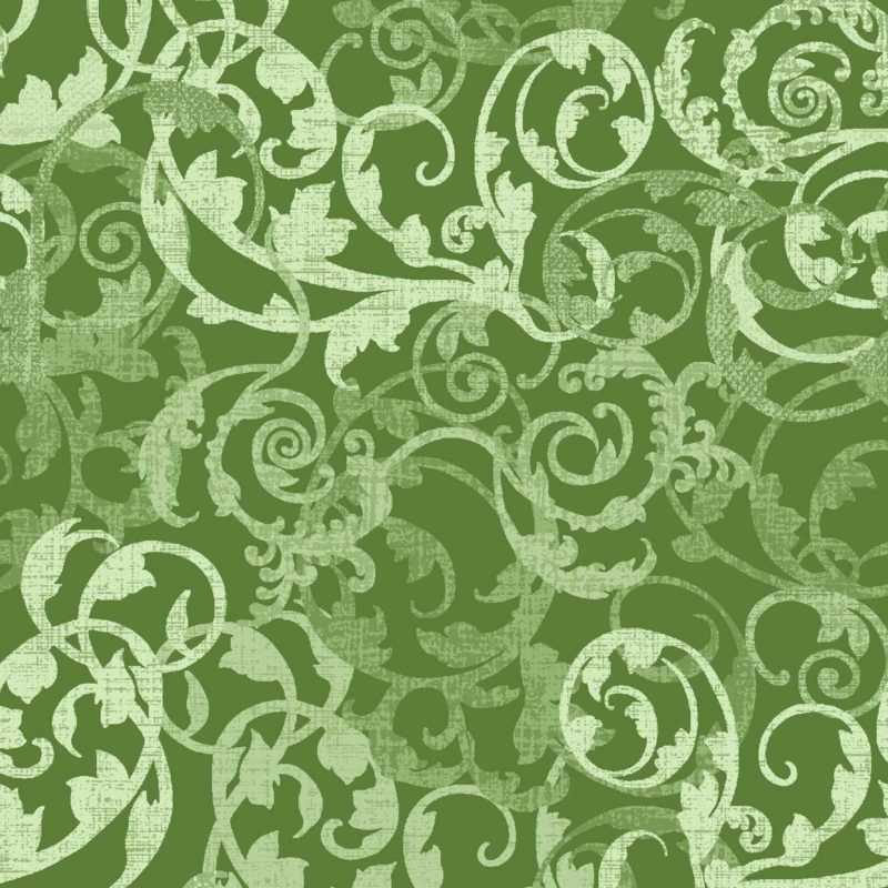 Enchanted Damask Green OA6017202