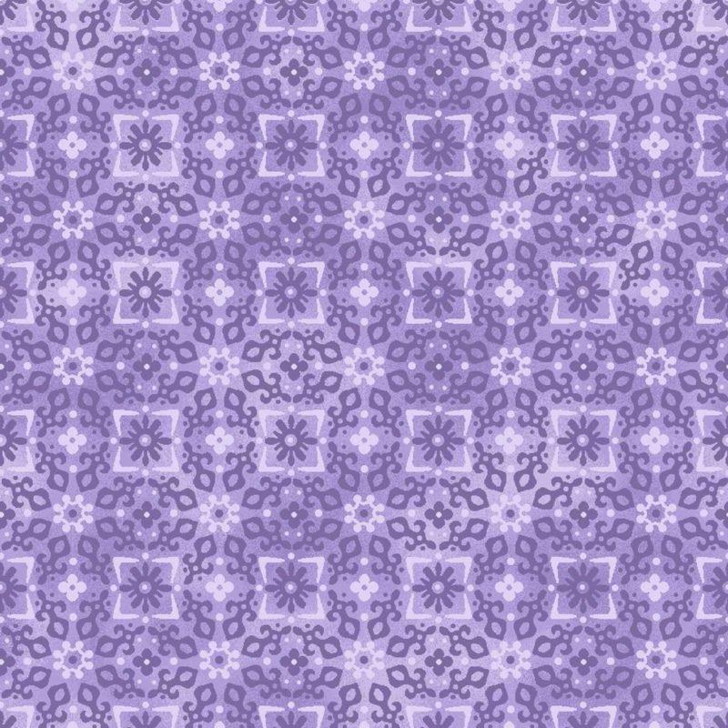 Enchanted Tonal Floral Purple OA6017402