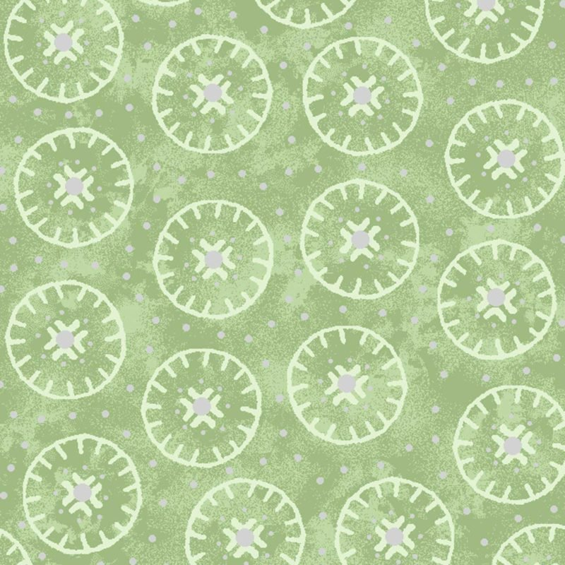 Enchanted Circles Light Green  OA6017501