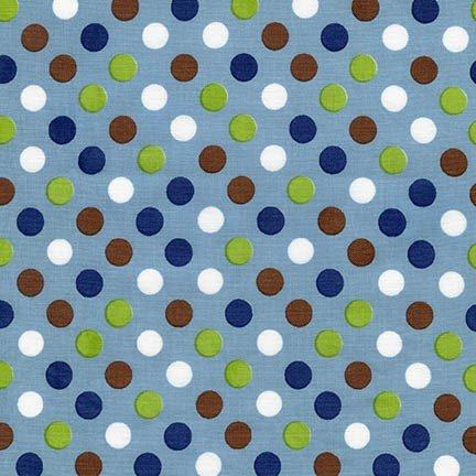 Sale Dots Spot On #12872-67 Denim