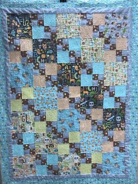 Flannel Youth Quilt 48 X 64