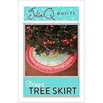 Christmas Strippy Tree Skirt Pattern