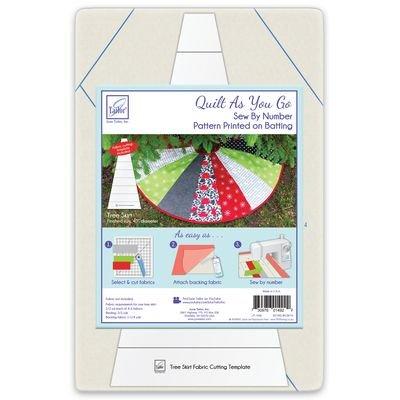 Household Tree Skirt Quilt As You Go