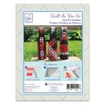 Wine Tote Quilt As You Go (set of 3)