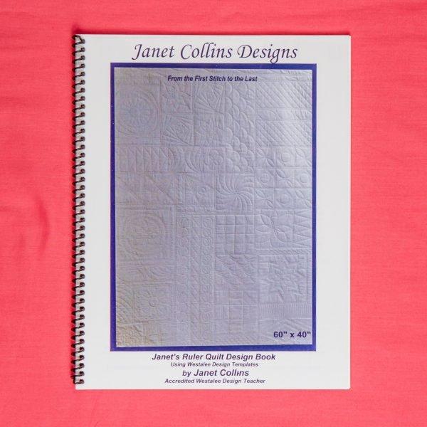 Janet's Ruler Quilt Design Westalee Templates